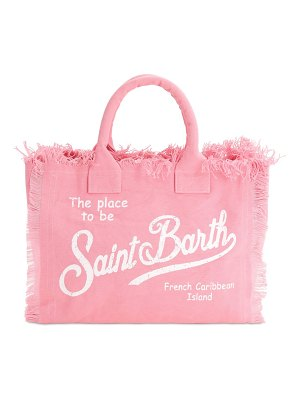 MC2 SAINT BARTH Vanity canvas tote bag