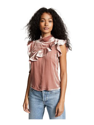 McGuire Denim velvet sorbonne top
