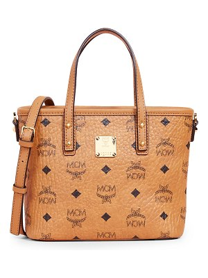 MCM anya zip top mini shopper tote
