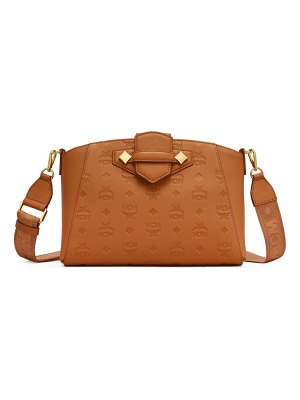 MCM essential monogram leather crossbody bag