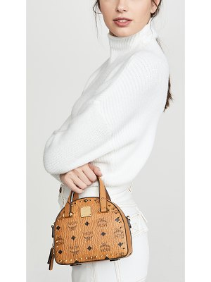 MCM essential studded outline visetos mini t bag