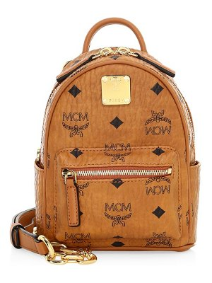 MCM essential visetos original crossbody backpack