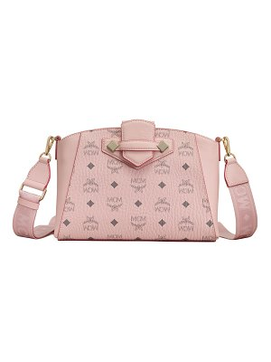 MCM Essential Visetos Original Small Crossbody Bag
