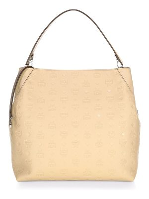 MCM Klara Leather Hobo Bag