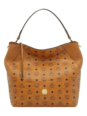 MCM Klara Visetos Large Hobo Bag