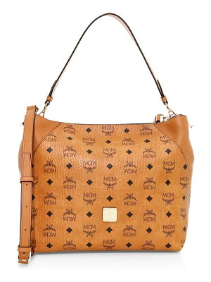 MCM medium klara visetos hobo bag