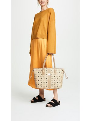 MCM medium liz shopper tote