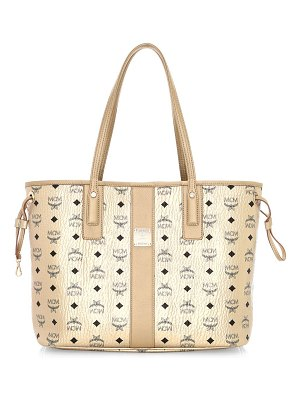MCM medium project visetos reversible shopper