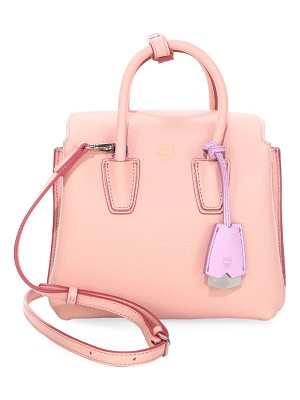 MCM milla leather tote bag