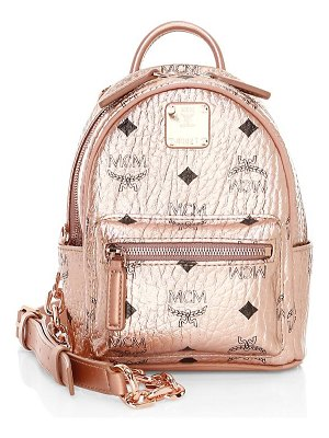 MCM mini essential visetos original crossbody backpack