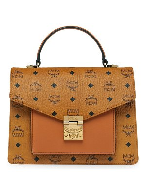 MCM patricia medium visetos satchel