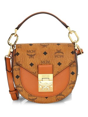 MCM patricia visetos saddle bag
