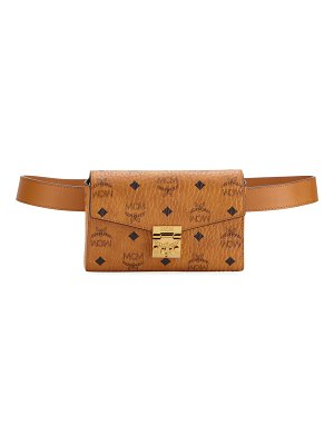 MCM Patricia Visetos Small Belt Bag