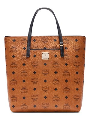 MCM small anya visetos coated canvas tote