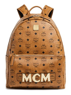 MCM small medium trio stark backpack