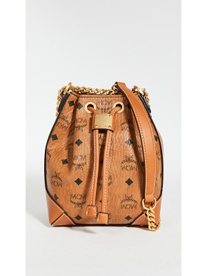 MCM soft berlin visetos drawstring mini bag
