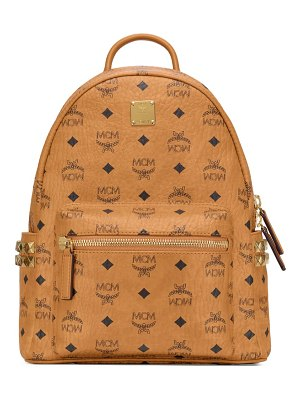 MCM stark 32 visetos canvas backpack