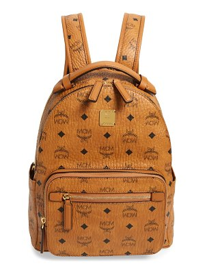 MCM stark 32 visetos coated canvas backpack