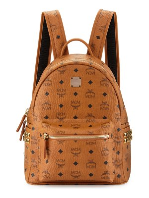 MCM Stark Visetos Small Side-Stud Backpack