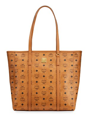 MCM Toni Logo Medium Shopper Tote Bag