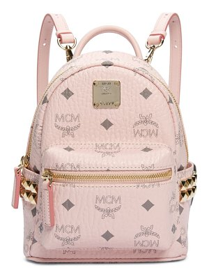 MCM x-mini stark side stud convertible backpack