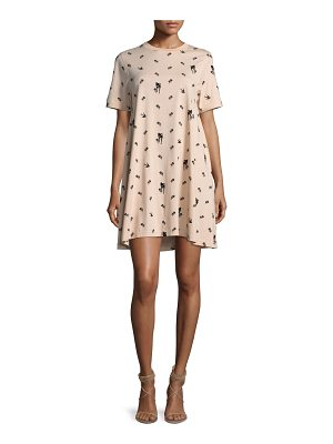 MCQ BY ALEXANDER MCQUEEN Babydoll Mini Short-Sleeve Dress