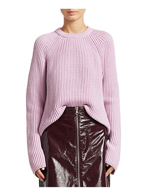 McQ by Alexander McQueen lace-up cotton knit