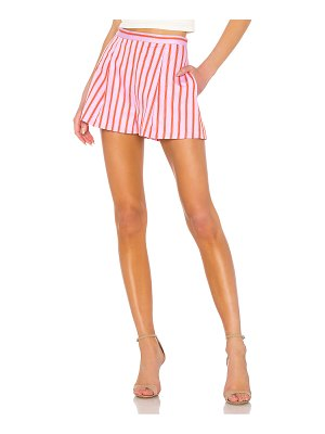 MDS Stripes pleated short