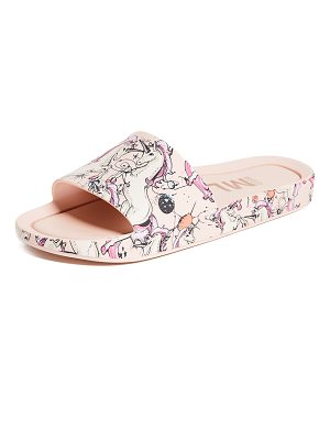 Melissa beach rain slide sandals