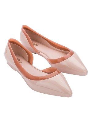 Melissa cleo ad pointed toe flat
