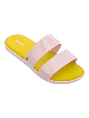 Melissa color pop slide sandal