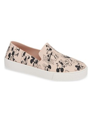 Melissa ground mickey slip-on sneaker