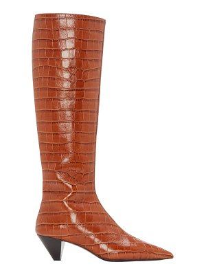 MERCEDES CASTILLO donique tall leather boots
