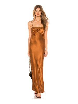 MES DEMOISELLES Alicante Deep Satin Dress