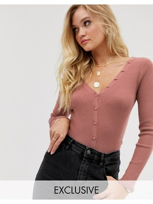 Micha Lounge button through cardigan