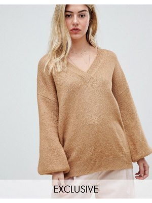 Micha Lounge relaxed v-neck sweater