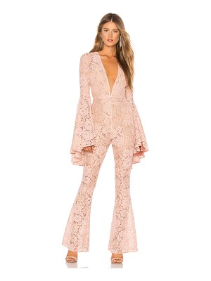 Michael Costello x revolve beauty jumpsuit