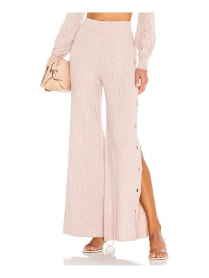 Michael Costello x revolve kalina side button pant