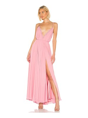 Michael Costello x revolve paris gown