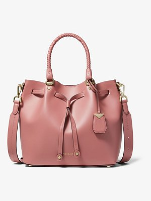 Michael Kors Blakely Medium Leather Bucket Bag