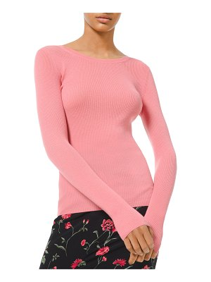 Michael Kors Collection Cashmere Scoop-Neck Sweater