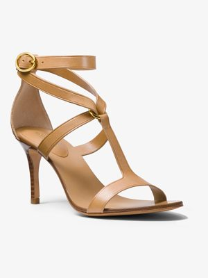 Michael Kors Collection Ashley Calf Leather Sandal