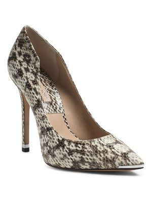 MICHAEL KORS COLLECTION Avra Snakeskin Pump