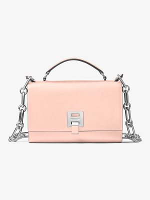 Michael Kors Collection Bancroft Calf Leather Shoulder Bag