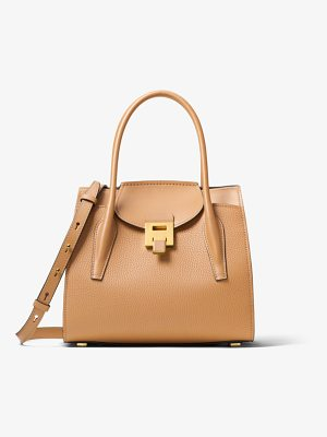 MICHAEL KORS COLLECTION Bancroft Medium Calf Leather Satchel