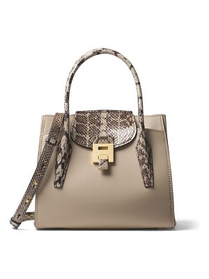 Michael Kors Collection mediumbandcroft leather satchel