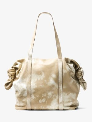 Michael Kors Collection Cali Tie-Dye Leather Tote