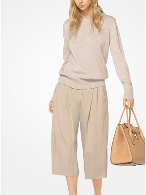 Michael Kors Collection Cashmere And Linen Pullover