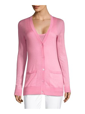 Michael Kors Collection featherweight cashmere cardigan