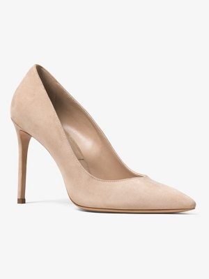 Michael Kors Collection Gretel Suede Pump